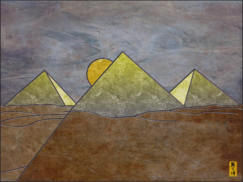 Pyramids by Mike Connor