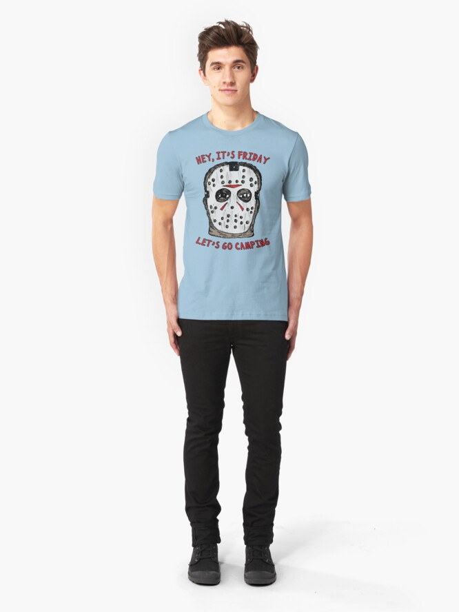 Alternate view of Friday Camping Slim Fit T-Shirt