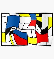 Mondriaan Mondrian Poster