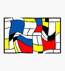 Mondriaan Mondrian Photographic Print