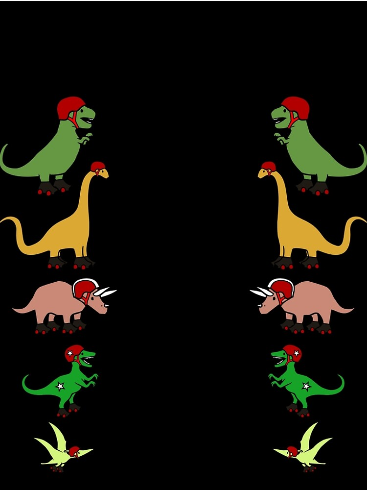 Roller Derby Dinosaurs by jezkemp