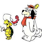 Touché Schildkröte und Dum Dum, Cartoon-Serie, Hanna-Barbera von RainbowRetro