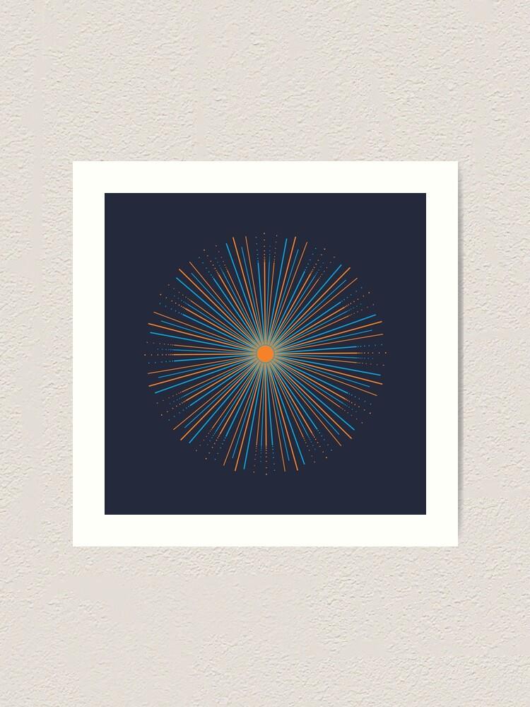 Alternate view of Sunburst Art Print