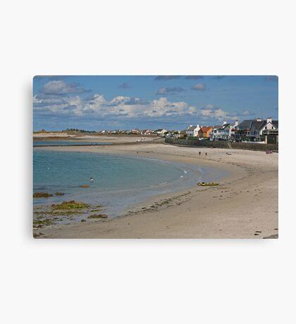 Cobo Bay, Guernsey Canvas Print