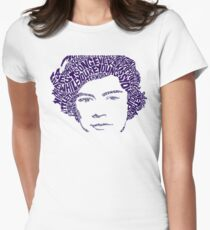 harry styles Womens Fitted T-Shirt