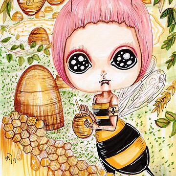 The Enchanting Kingdom of Bees by MayaDevi