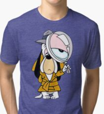 Droopy Dog Classic Cartoon Detective Tri-blend T-Shirt