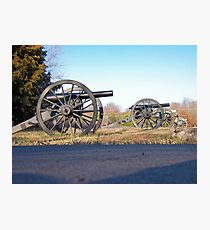 Big Guns Photographic Print