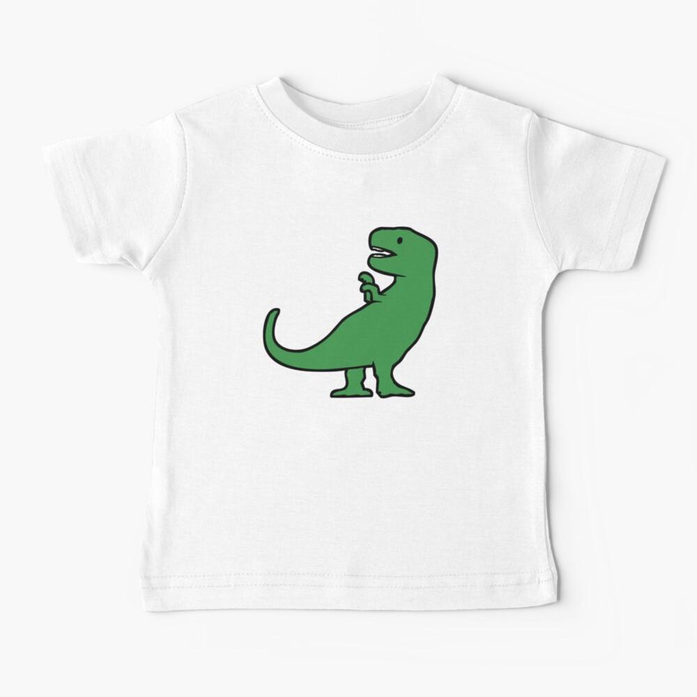 Cute T-Rex (Oversize) Baby T-Shirt