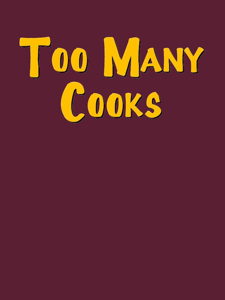 Too Many Cooks Logo | Unisex T-Shirt