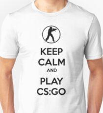 Keep Calm And Play CS:GO V2 T-Shirt
