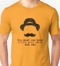 Agatha Christie: Hercule Poirot - Little Grey Cells Unisex T-Shirt