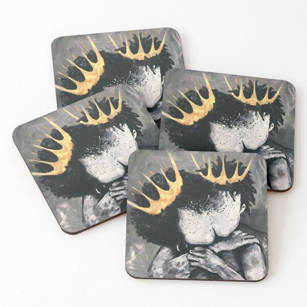 Naturally Royalty Coasters (Set of 4)