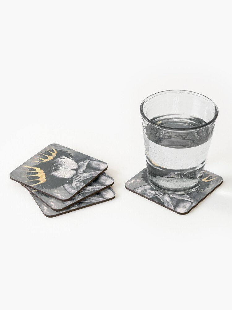 Alternate view of Naturally Royalty Coasters (Set of 4)