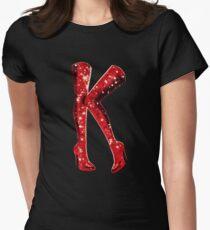 Camiseta entallada para mujer BOTAS RIZADAS