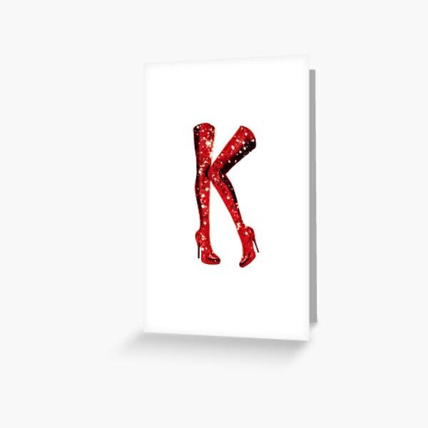 KINKY BOOTS Greeting Card