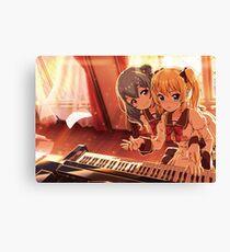 Kanon and Shiho 2 Canvas Print