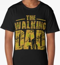 The Walking Dad - Father's Gift Long T-Shirt