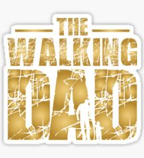The Walking Dad - Father's Gift Sticker