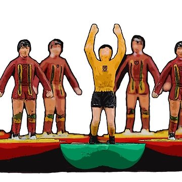 Wales subbuteo football team 1980s by vancey73