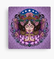 Sacred Spirit - Boho Goddess Canvas Print