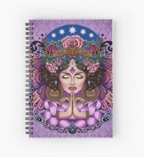 Sacred Spirit - Boho Goddess Spiral Notebook
