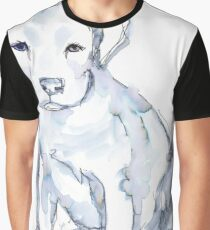 Pit Bull Puppy (for Kerry), watercolor Graphic T-Shirt