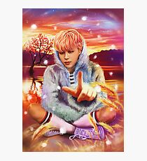 Jimin Spring Day Photographic Print