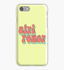 girl power iPhone Case/Skin