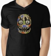Five Nights at Candy's - Pixel art - Blank animatronic Men's V-Neck T-Shirt