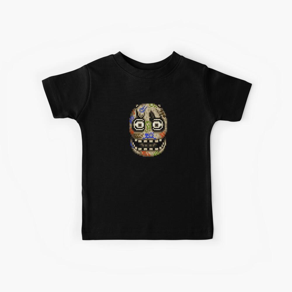 Fünf Nächte bei Candy's - Pixel Kunst - Blank Animatronic Kinder T-Shirt
