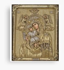 Russian icon  Canvas Print