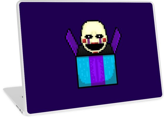Five Nights at Freddy's 2 - Pixel art - The Puppet in the box by GEEKsomniac