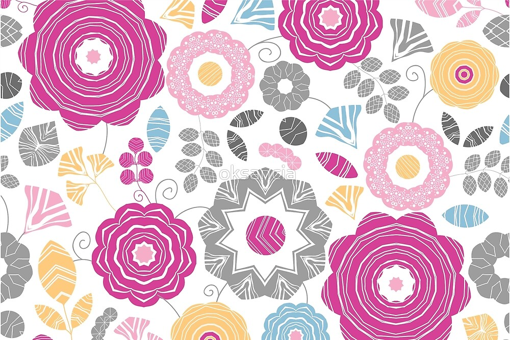 Flowers for you pattern by oksancia