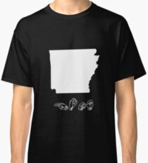 ASL (American Sign Language) Arkansas Tshirt Classic T-Shirt