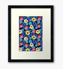 Watercolor tropical bloom Framed Print