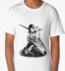 Lara Croft Drawing Long T-Shirt