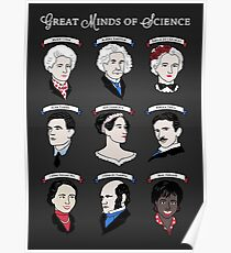 Great Minds of Science - Set Poster