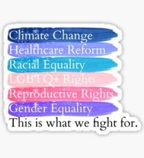 Social Issues  Sticker