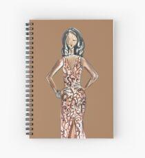 Wandisa (Brown Versions) Spiral Notebook