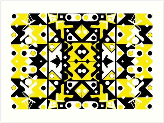 lemon yellow b+w 6 by kennethochoa