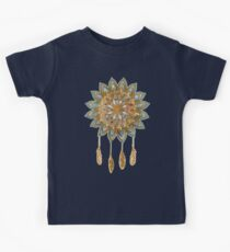Golden Dreams Dreamcatcher Kids Tee