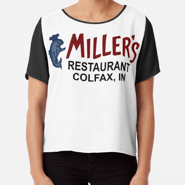 Miller's Restaurant - Catfish Dinners - Colfax, Indiana Chiffon Top