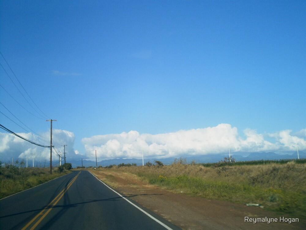 open road by Reymalyne Hogan