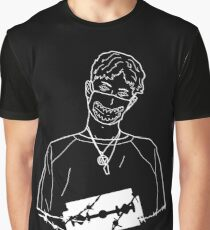 Wire Bladee Outline Graphic T-Shirt