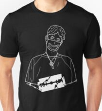 Wire Bladee Outline T-Shirt