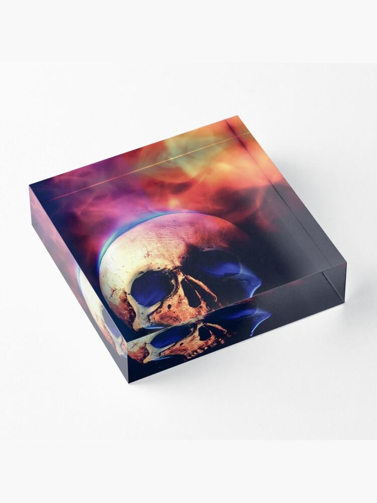 Alternate view of Demon Tears Acrylic Block