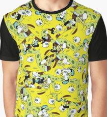 Mocking SpongeBob Bird Meme Graphic T-Shirt