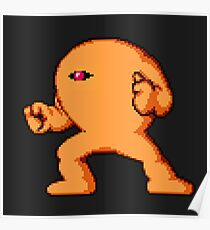 MegaMan Yellow Devil Poster