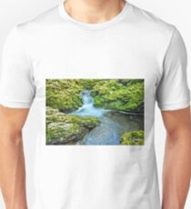 Mossy Moine Falls Unisex T-Shirt